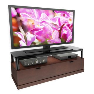 Sonax Bandon Wood Veneer 55 inch Entertainment Center