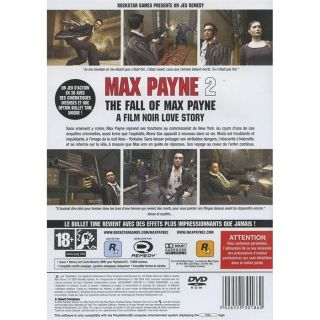 MAX PAYNE 2 / jeu console PS2   Achat / Vente PLAYSTATION 2 MAX PAYNE