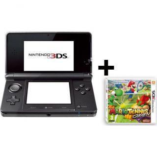 3DS NOIRE COSMOS + MARIO TENNIS OPEN   Achat / Vente DS 3DS NOIRE