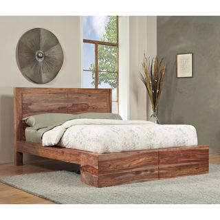 Sheesham Solid Wood Full size Panel Bed