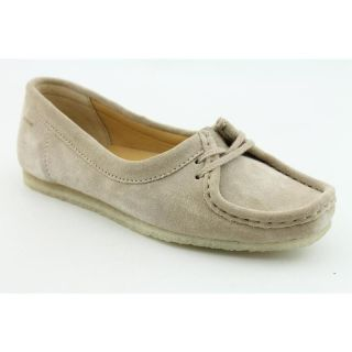 Clarks Originals Womens Wallabee Chic Beige Casual Shoes