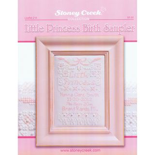 Stoney Creek Little Princess Birth Sampler