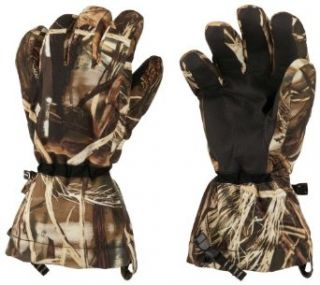 Mens Columbia Gathering Storm Waterproof Gloves CAMO M