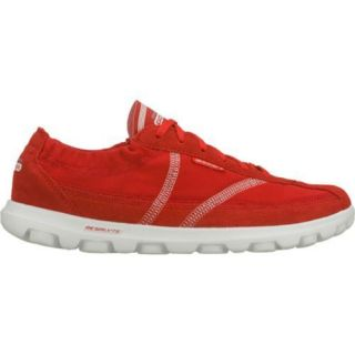 Womens Skechers GOwalk Nice Red