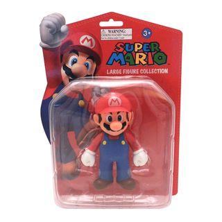 Nintendo Super Mario Brothers Mario 5 inch Deluxe Figure