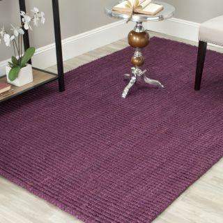 Hand woven Weaves Purple Fine Sisal Rug (9 x 12) Today $376.59 Sale