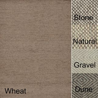 Hand woven Cape Cod Wool/ Cotton Rug (93 x 13)
