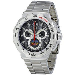 Tag Heuer Mens Steel Formula 1 Indy 500 Chronograph Watch