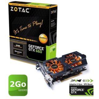 Zotac GTX660 2Go GDDR5 OC Dual Silencer   Achat / Vente CARTE