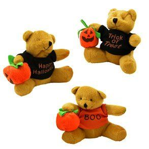 Halloween Plush Bear Toys & Games