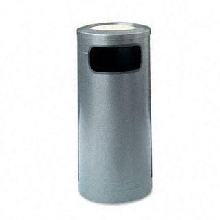 Ash n Trash 12 gallon Steel Waste Can with Urn