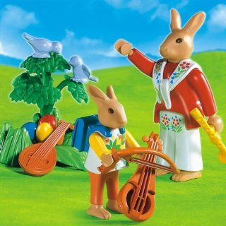 Playmobil Bunnies Music Lesson Toys & Games