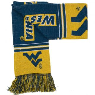 West Virginia Mountaineers Acrylic Scarf