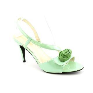 Andiamo Womens Life Patent Sandals (Size 5)