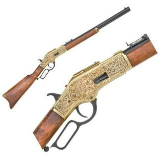 Model 1873 Old West Lever Action Rifle with Engraved