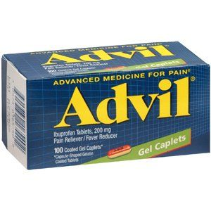 ADVIL GEL CAP 100CP PFIZER CONS HEALTHCARE NO POST Health