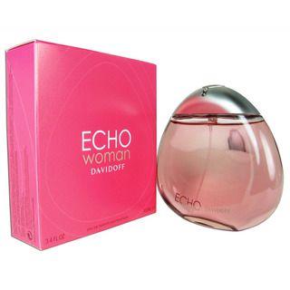 Davidoff Echo Womens 3.4 ounce Eau de Parfum Spray