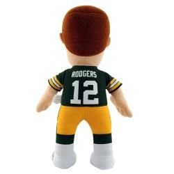 Green Bay Packers Aaron Rodgers 14 inch Plush Doll