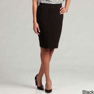 Calvin Klein Womens Banded Waist Skirt