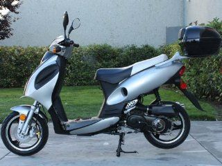 Sunny Powersports MC D150F BLACK Gas Rally 150cc Moped