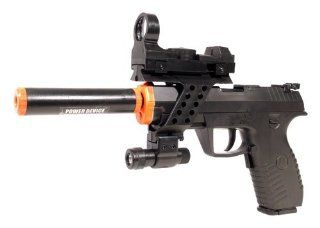 Electric Full Auto Tactical 2032A Pistol FPS 150 Blowback