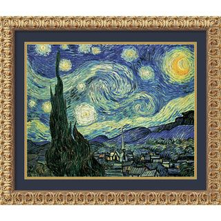 Vincent van Gogh The Starry Night Framed Art Print