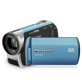 Panasonic SDR S26 Black SD Camcorder (Refurbished)