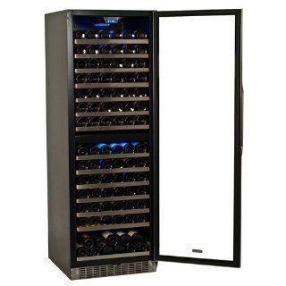 155 Bottle EdgeStar Dual Zone Wine Cooler Appliances