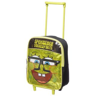 Nickelodeon Sponge Bob 12 inch Kids Rolling Backpack