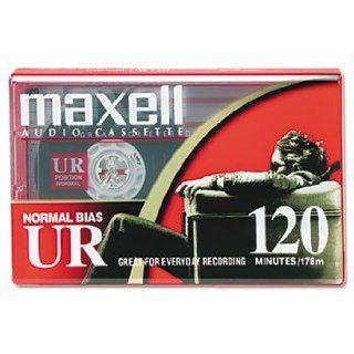 Maxell 108010   Standard Grade Audio Cassette Tape, 120
