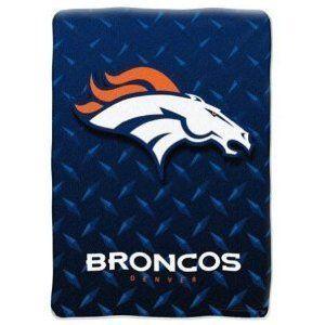 Royal Plush Blanket Throw 60 x 80   Denver Broncos