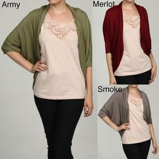 Status by Chenault Womens Cinched Back Cardigan FINAL SALE