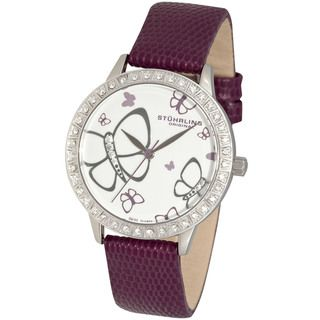 Stuhrling Original Womens Fantasia Crystal Watch