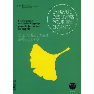 LA REVUE DES LIVRES POUR ENFANTS T.263   Achat / Vente livre La Revue