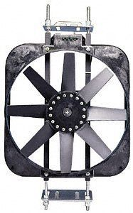 Flex a lite 155 Black Magic Black 15 Electric Puller Fan