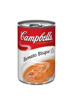 Campbells Red & White Tomato Bisque, 11 Ounce Cans (Pack of 12