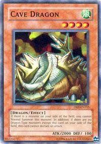 Yu Gi Oh!   Cave Dragon (DB2 EN155)   Dark Beginnings 2