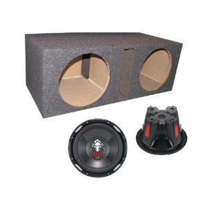 2 BOSS P156DVC 15 Inches 5000W Car Subwoofers Subs, Dual