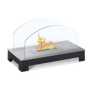 Solar Table Top Ethanol Fuel Fireplace