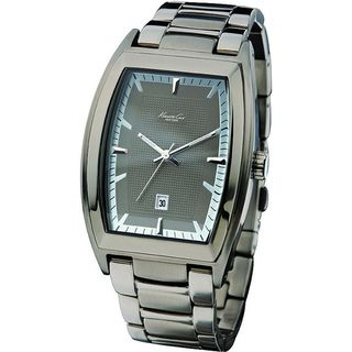 Kenneth Cole Mens Reaction KC3756 Grey Stainless Steel Quartz Watch