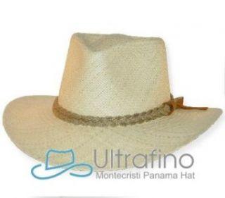 AUTHENTIC AFICIONADO STYLE PANAMA HAT NATURAL STRAW BIG