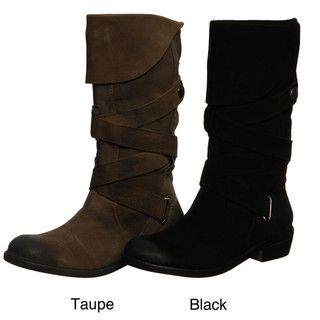 Zodiac Womens Piles Mid calf Cuffed Boot FINAL SALE
