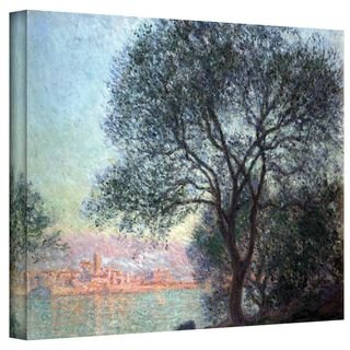 Claude Monet Antibbes Wrapped Canvas Art