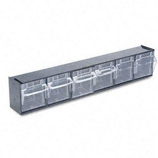 Deflecto 6 bin Tilt Bin Storage System