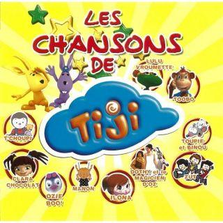 LES CHANSONS DE TIJI   Compilation   Achat CD COMPILATION pas cher