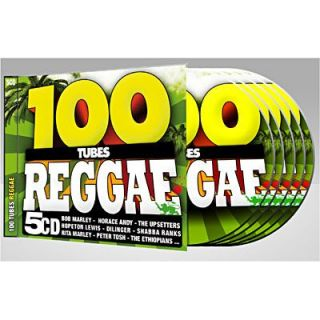 100 TUBES REGGAE   Compilation (5CD)   Achat CD COMPILATION pas cher