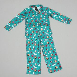 Small Paul by Paul Frank Girls Allover Print Sleepwear Set