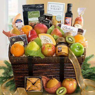 Best of California Deluxe Artisan Gourmet and Fruit Basket