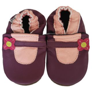 Baby Pie Purple Little Lady Leather Girls Shoes