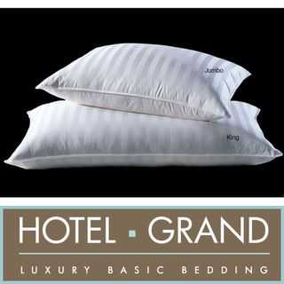 Hotel Grand Siberian White Down 500 Thread Count Pillow